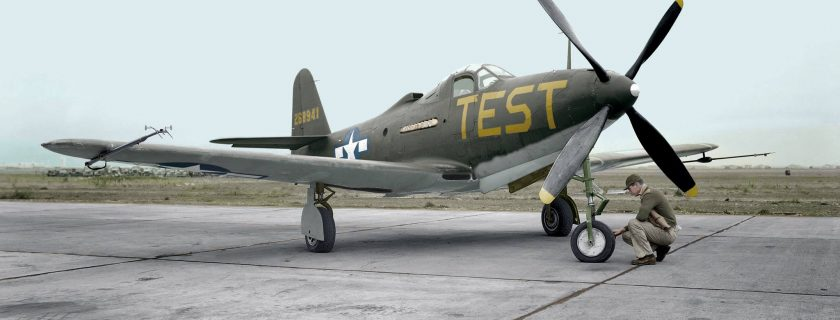 Our P-63 in 1945 operated by NACA ( predecessor of NASA) at Moffett Field, CA.
