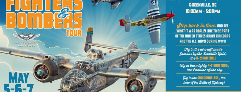 CAF Fighters & Bombers Tour – Greenville, S.C.