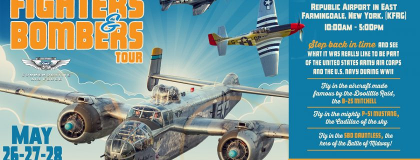 CAF Fighters & Bombers Tour – Farmingdale, NY – American Airpower Museum