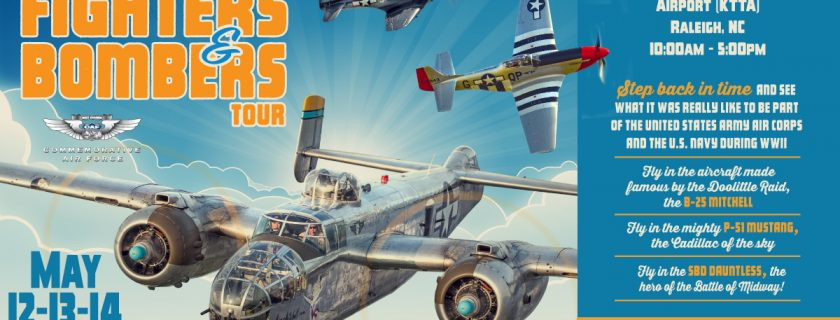 CAF Fighters & Bombers Tour – Raleigh, NC