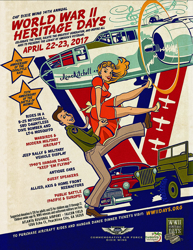 WWII Heritage Days Poster