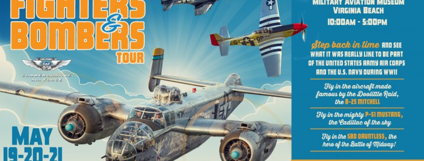 CAF Fighters & Bombers to Offer Rides at the Warbirds Over the Beach Air Show