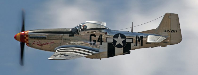 CAF Living History Day Features Legendary P-51 Mustang