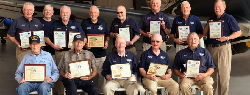 Three CAF Dixie Wing Members Receive FAA Awards